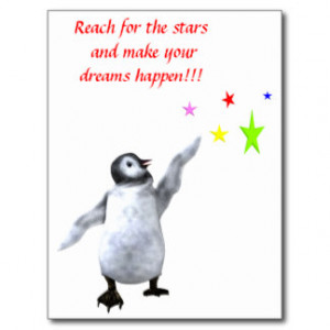 reach_for_the_stars_and_make_your_dreams_happen_postcard ...