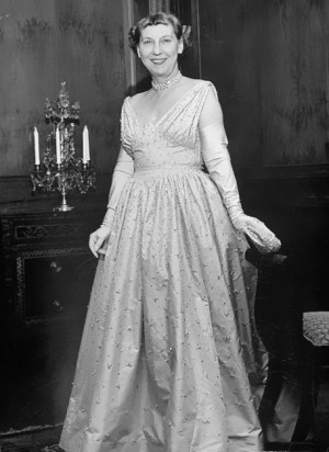 34th First Lady Mamie Doud Eisenhower
