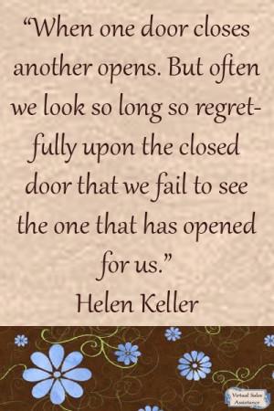 quote from Helen Keller.The Doors, Inspiring Quotes, Keller Quotes ...