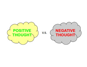 ... powerful your thoughts are, you would never think a negative thought