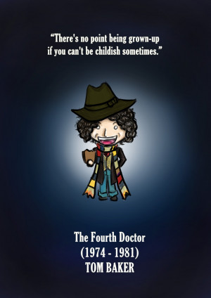 The Fourth Doctor - Doctor Who fanart by MoztDangerous