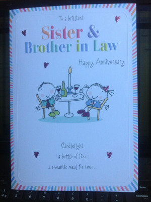 Wedding Anniversary Quotes Brother And Sister Law