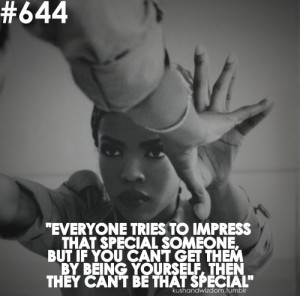 Lauryn hill quotes sayings impress someone relationship