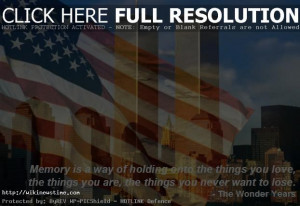 ... September in the memory of the 9/11 Terrorist Attacks on United States