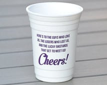 Sex and the City quote reusable plastic party cup | Bachelorette party ...
