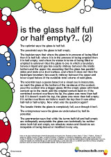 is the glass half full or half empty quotes 2