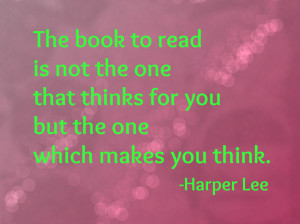 Harper Lee Quote Love
