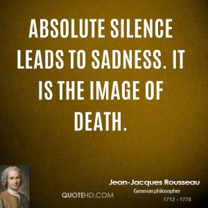 Jean-Jacques Rousseau Death Quotes