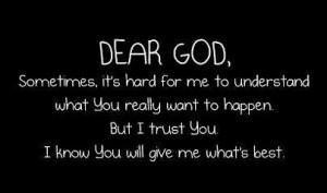 GOD Quotes, Dear GOD