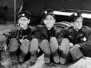 The original Three Stooges in their film debut, Soup to Nuts . Many ...