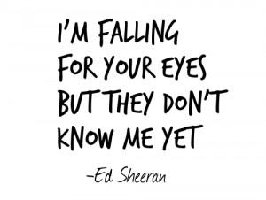 love quote quotes lyrics kiss me ed sheeran