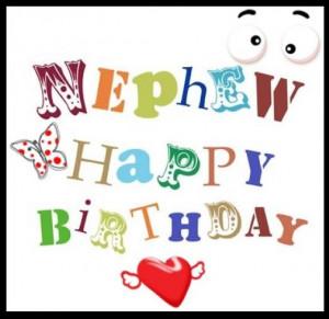 Nephew Happy Birthday Wishes for Facebook Status