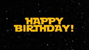 Happy Birthday Star Wars!!!