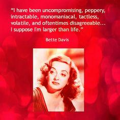 Movie Actor Quotes - Bette Davis - Film Actor Quote #bettedavis ...
