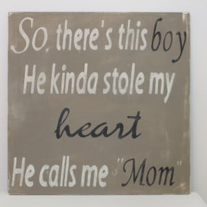 So, there's this boy... wall art, quote, sign
