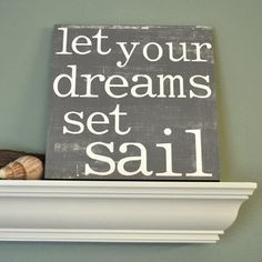 nautical quotes and sayings   Decor   Nautical Decor   Seashell Decor ...