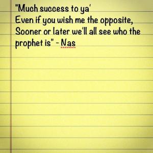 Nas #lyrics #hip-hop #rap #quote #inspirational (Taken with Instagram ...