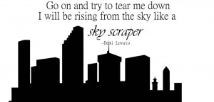 Lyric Drawings Demi Lovato Skyscraper Demi-lavoto-lyrics-quote-