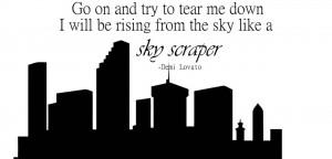 Lyric Drawings Demi Lovato Skyscraper Demi-lavoto-lyrics-quote-
