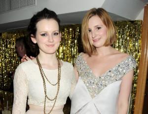 Sophie McShera and Laura Carmichael