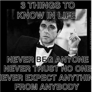 ... Quotes Scarface, True Shit, Funny Stuff, Things, Movie Quotes, Movie