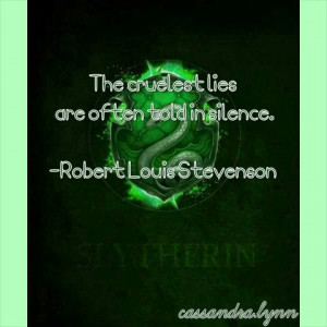Harry Potter House Quotes: Slytherin