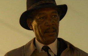 Se7en (1995) Moustache Hero Morgan Freeman - Movember Day 16