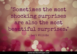Surprising quotes