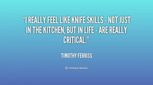 Quotes About Knives