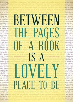 ... still going to read! A book is like a garden carried in the pocket