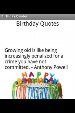 Funny Quotes About Birthdays Soft Canal