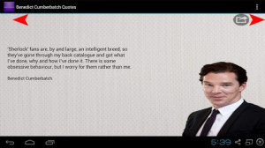 ... quotes, you can use the screen shots as Benedict Cumberbatch Quotes