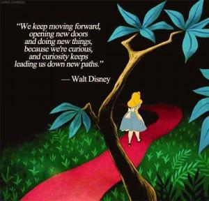 Disneyquotes, The Doors, Disney Quotes, Walt Disney, Waltdisney, Alice ...