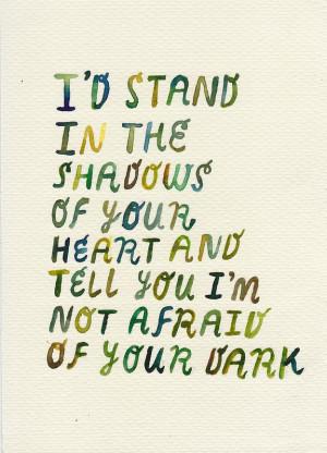 rocketrictic: Andrea Gibson. My dark is DARK..