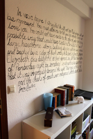 Some twine or other way to keep the lines straight and the letters the ...