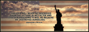 Abraham Lincoln quote....