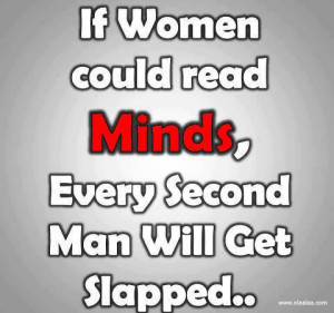 If women could read minds