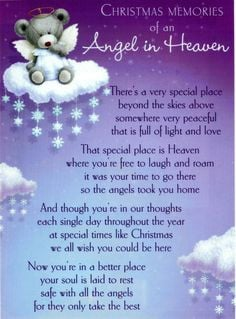 angels in heaven sayings | we can shed tears that you are gone or we ...