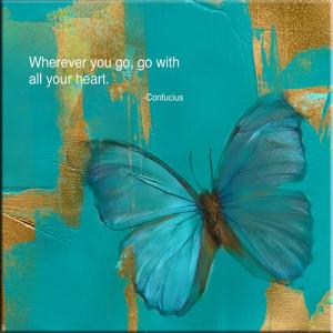 Blue Butterfly Inspiration