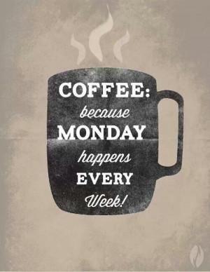 Mondays blah