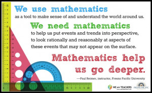 Motivational Quotes For Math Teachers ~ Teaching Inspiration: 3 Quotes ...