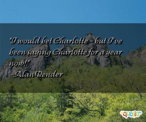 Charlotte Quotes