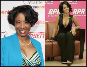 Adriane Lenox Bob vs Rihanna Short Curls