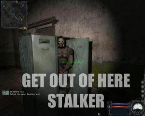 Stalker Humor Funny Shadow