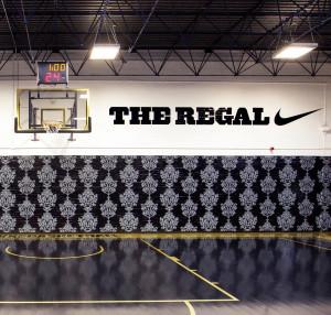nike + hotel: the regal basketball court, london