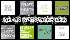 Dean Winchester Quote About