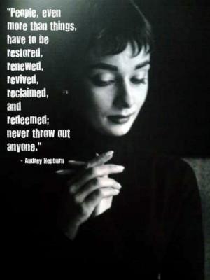 ... Audrey Hepburn Quotes, Wisdom, Audreyhepburn, Old Hollywood Quotes