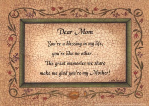 dear mom in heaven quotes