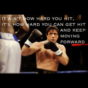 QUOTE FROM ROCKY MOVIE