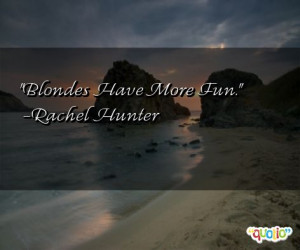 Blonde Have More Fun Quotes